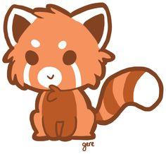 Chibi red panda - We cannot change our destiny, we just have to ...
