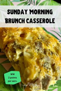 This easy, make-ahead Egg Beaters Breakfast Casserole is a perfect school morning breakfast or holiday breakfast buffet staple when your family is gathered. Or, make it on the weekend and cut into portions and have breakfast made for the whole week. #wwfriendly #lowpointbreakfast #eggbeaters Brunch Casserole, Breakfast Casserole Easy, Breakfast Buffet, Breakfast Items, Morning Breakfast, Best Breakfast, Breakfast Recipes, Slow Cooker Venison, Slow Cooker Apples