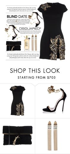 """""""Dress to Impress / Blind Date"""" by conch-lady ❤ liked on Polyvore featuring H&M, Dsquared2, Viktor & Rolf, dresstoimpress, dsquared2, viktor and blinddate"""