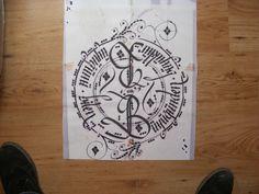 #hardwork #calligraphy If you know who is big, you bigger than big.