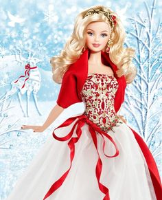 holiday collector barbie