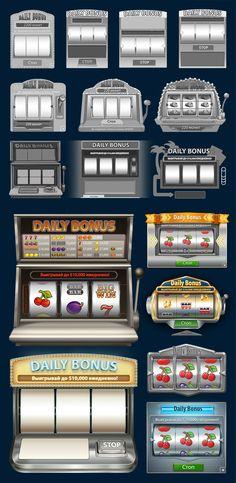 Daily Bonus Casino style on Behance