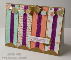 TweetScraps: National Papercrafting Month: Year >> Noted Card