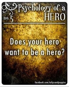 Psychology of a Hero - No. 5 #writersblock Click the photo to follow the story of two sisters who are also writing partners