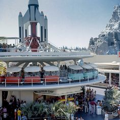 Daily Disneyland: Tomorrowland from the early 70's Check out our blog for more information on our pics! Blog http://mickeyphotosdisneyland.blogspot.com