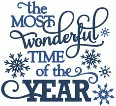 View Design #51136: most wonderful time of the year - vinyl phrase