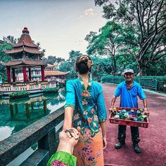 """#followmeto Haw Par Villa Singapore with @natalyosmann Nothing portrays the country more than its people, with their stories and culture.…"""