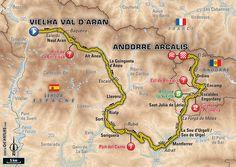 Etapa 9 - Vielha Val d'Aran > Andorra Arcalis - Tour de France 2016