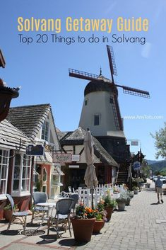 Top 20 Things to do in Solvang California. Check our Solvang Getaway Guide for Solvang Hotels, Solvang Restaurants, and Solvang Activities. Visit the Danish Solvang Restaurants, Solvang Wineries, Solvang California, California Travel, California History, Michigan Travel, Pacific Coast Highway, Santa Cruz, Usa