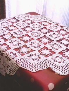 Tablecloth Fabric, Crochet Tablecloth, Tablecloths, Romans, Crochet Patterns, Quilts, Blanket, Dom, Facebook