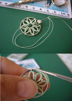 Single crochet around a ring.