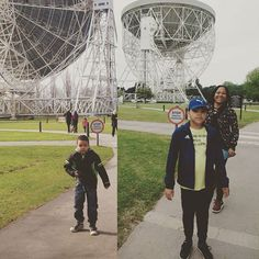 #jodrellbank today and 4 years ago