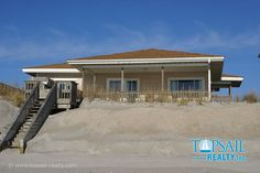 Vacation Rental Topsail Beach-S. Anderson Area & Oceanfront | PEACE OF THE SON