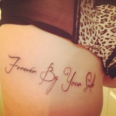 Cute shoulder tattoo mother daughter quote tattoos for Twin tattoos for mom