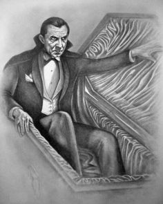 Classic Horror Movies, Horror Films, Horror Art, Best Vampire Movies, Lugosi Dracula, Count Dracula, Scary, Statue, Caricatures