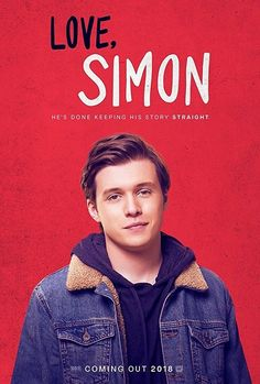 """Love, Simon"" - Simon Spier keeps a huge secret from his family, his friends, and all of his classmates: he's gay. When that secret is threatened, Simon must face everyone and come to terms with his identity. Nick Robinson, Amor Simon, Latest Hollywood Movies, Iconic Movies, Great Love Stories, Love Story, Great Films, Good Movies, Love Simon Movie"