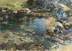 John Singer Sargent: Alpine Pool