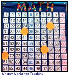 Quick Daily Math Ideas - Mystery Numbers: which numbers are missing? What do they have in common? Do you see a pattern? What do you notice? Whimsy Workshop Teaching