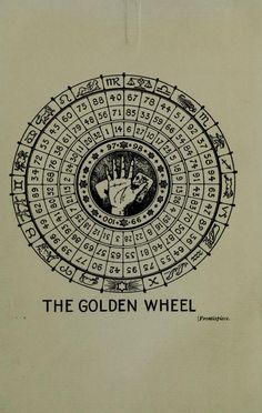 the-two-germanys:    The Golden Wheel.Manual of Cartomancy & Occult Divination  Grand OrientLondon: William Rider & Son, Ltd., 1909.
