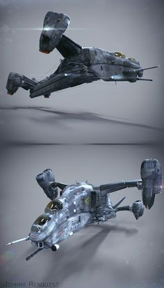 "Final 3D Model for Star Citizen's Contest, render by me, modeling by Eric ""Oblivion"" Belita and me."