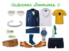 """""""Undercover Groomsmen 3"""" by zigzag433 on Polyvore featuring Diesel, Ray-Ban, Laura Cole, David Yurman, women's clothing, women's fashion, women, female, woman and misses"""