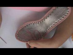 SANDALIA MARCEYE DAMA - TEJIDO EN CROCHET (VERSION MEJORADA) - YouTube