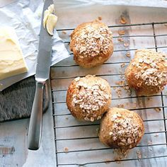 Roasted Garlic Parmesan Potato Dinner Rolls | Recipe