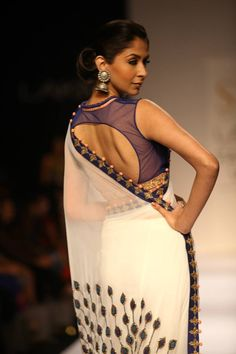 Latest Blouse Designs, Celebrity Sarees, Designer Sarees, Blouse Models~2014