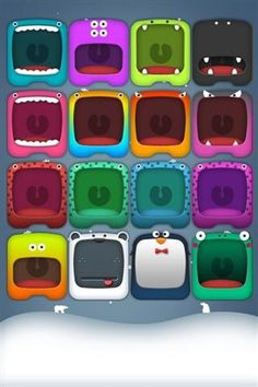 An adorable home screen wallpaper for your iPod touch