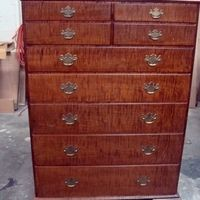 Chest of Drawers; Charles Neil Woodworking Custom Order Furniture