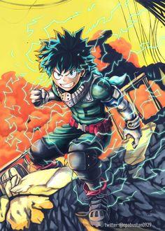 You can be a Hero Anime & Manga Poster Print My Hero Academia Episodes, Hero Academia Characters, Anime Characters, Buko No Hero Academia, My Hero Academia Manga, Anime Manga, Anime Art, Akira, Deku Boku No Hero