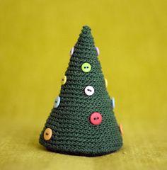 amigurumi christmas tree