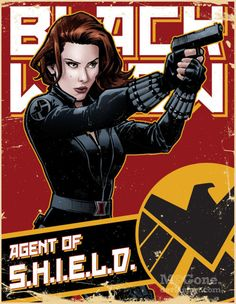 Black Widow Agent of S.H.I.E.L.D. - Shawn McGuan