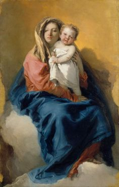 Madonna and Child by Giovanni Battista Tiepolo