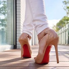 Red Bottoms, Christian Louboutin, High Heels, Lily, Stockings, Pumps, Shoes, Women, Fashion