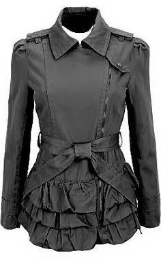 Amazing black jacket with jeans | Fashion World