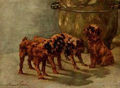 Earl, Maud (1864-1943) - The Power of the Dog 1910 (Griffon Bruxellois), 10-21