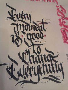 some calligraffiti stuff #1 on Behance