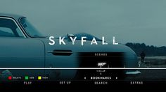 Skyfall Blu-ray bookmarks