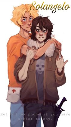 Get off my phone if you have schist to say. Arte Percy Jackson, Dibujos Percy Jackson, Percy Jackson Ships, Percy Jackson Memes, Percy Jackson Books, Percy Jackson Fandom, Percabeth, Solangelo Fanart, Rick E