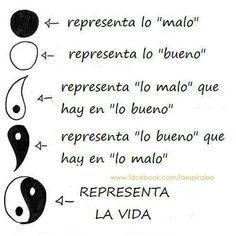 yin y yan Ying Yang, Life Quotes, Geek Stuff, Mindfulness, Positivity, Kawaii, Thoughts, Feelings, Cool Stuff