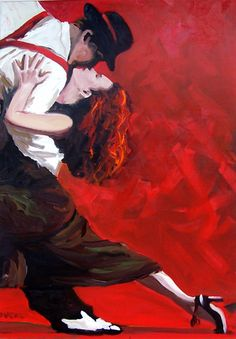 The Tango by Peter O'Neill . there's no mistakes in the Tango, Darlin . you just Tango on. Tango Art, Dance Paintings, Couple Illustration, Illustration Artists, Argentine Tango, Shall We Dance, Ballroom Dancing, Swing Dancing, Modern Dance