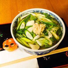 """Kyo-Negi (Leek from Kyoto) Udon"" Delicious :) #mizumushikun #food #kyoto #japan #japanese #foodie #udon #noodle #soup #leek #vegetable #healthy #delicious #yummy #nom #nomnom"