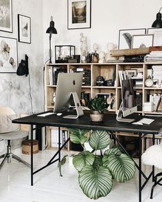 Workspace Design, Office Interior Design, Home Office Decor, Office Interiors, Home Decor, Cool Office Space, Workspace Inspiration, Fashion Room, Decoration