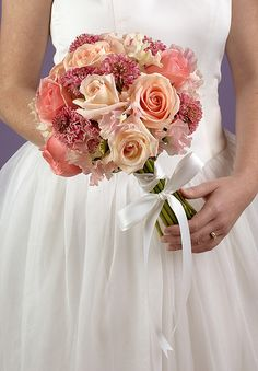 Hand-tied Bridal Bouquet   Flickr - Photo Sharing!