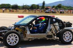 Первый внедорожный спорткар Korres Project 4