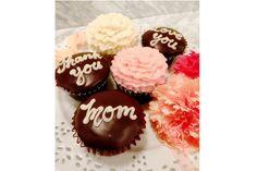 マグノリアベーカリーに母の日に向けた華やかなフラワーカップケーキが登場