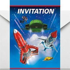 Thunderbirds Invites - Party Invitation Cards