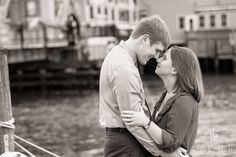 Mystic Engagement Session by Jennifer Bach Photography