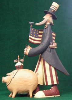 Walkin' the Hog from the Williraye Studio Everyday Collection at the Cottage Gift Shop - Elmira, NY